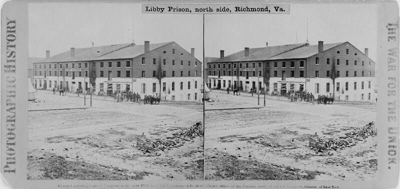 3161. Libby Prison, north side, Richmond, Va..jpg (43749 bytes)